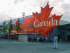 The Canadian Pavillion at the EXPO2000 in Hannover - view from outside